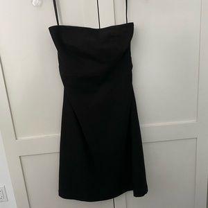 Gap Wool Strapless Dress